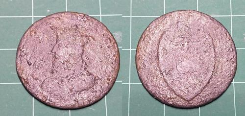 Date: 1792Type: Lancaster Halfpenny John of GauntFound by: Tom Connell