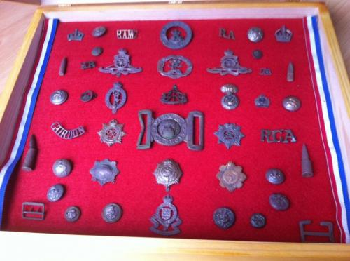 Date: ?Type: Military Finds CaseFound by: Mik Morgan