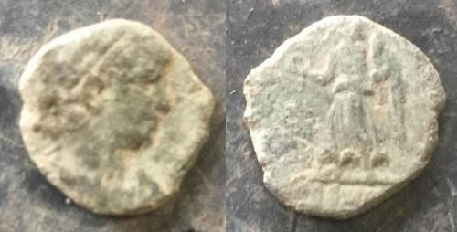 Date: 337 - 361Emperor: Constantius IIType: ?Found by: Paul Parnell