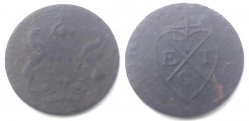 Date: ?Type: East India Trading Company TokenFound by: Paul Parnell