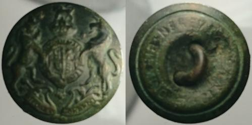 Date: ?Type: Military General Service ButtonFound by: Tom Connell