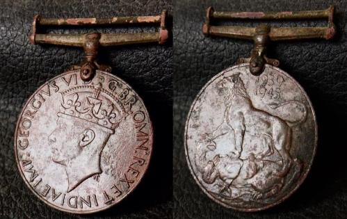 Date: ?Type: WW2 Campaign MedalFound by: ?