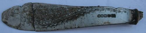 Date: ?Type: Fish Knife BladeFound by: Ian Murray